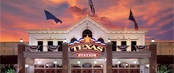 Texas Station Gambling Hall & Hotel with a beautiful sunset