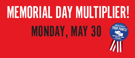 Memorial Day Multiplier
