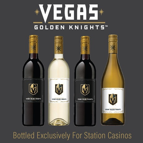Vegas Golden Knights Wine