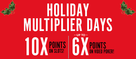 Holiday Multiplier Days 2018