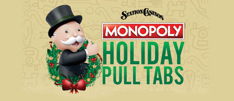 Monopoly Holiday Pull Tabbs