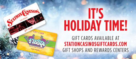 It's Holiday Time! Gift Cards