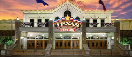 Front exterior shot of Texas Station Gambling Hall & Hotel