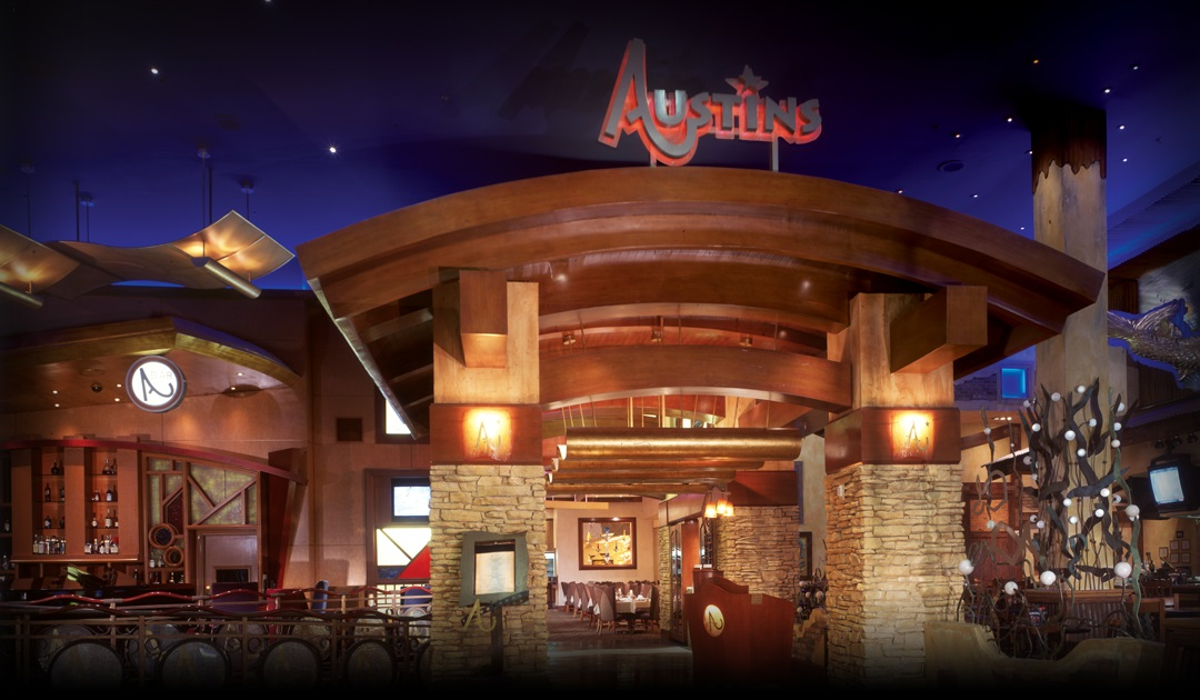 Austin's Steakhouse inside Texas Station