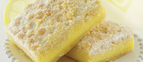 Lemon bars from the Grand Cafe