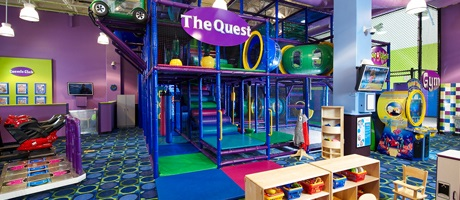 Kids Quest supervised child care inside Station Casinos