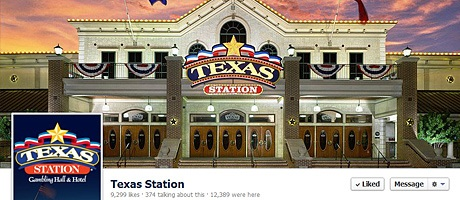 Texas Station Facebook cover